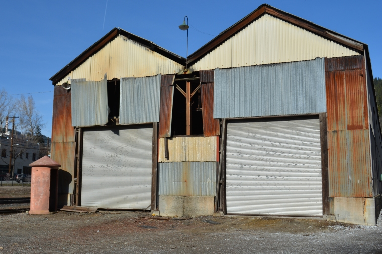Dunsmuir Engine House outside