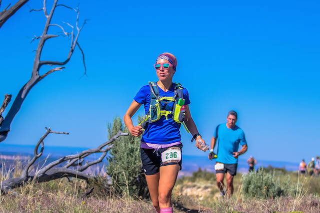 Grand Canyon 50k with mouth full of figs