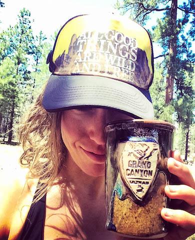 Grand Canyon Ultras finishers mug