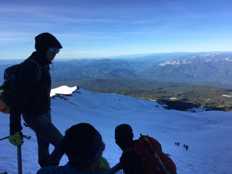 Pouty on Mt. Shasta- Chuck Walen