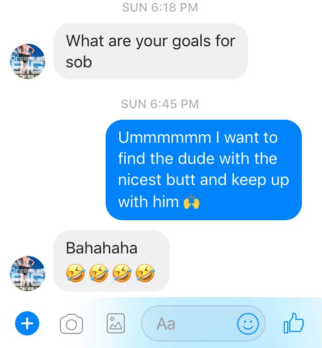SOB race goals