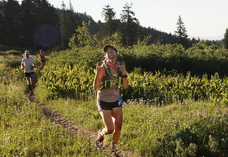 SOB 50k race Lauren Steinheimer