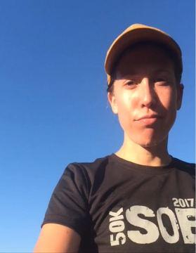 Selfie at Maiden summit