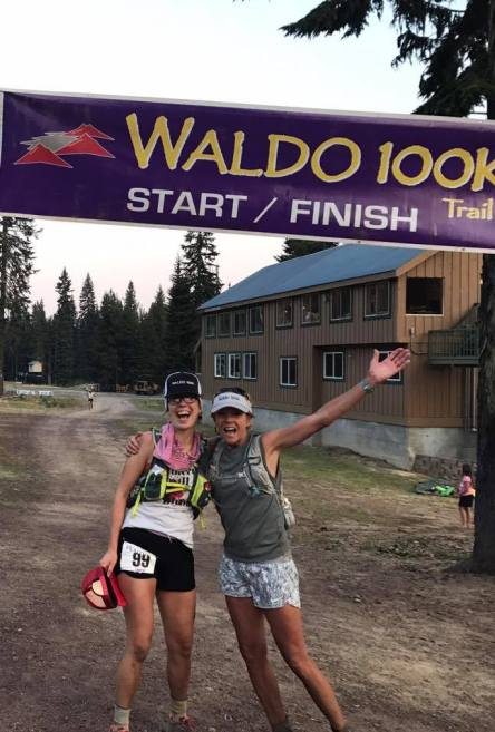 Waldo 100k finish line