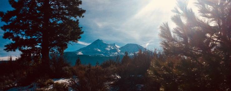 Mt. Shasta trail running