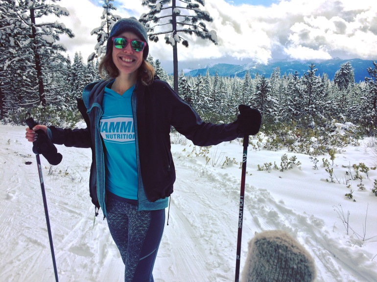 Cross country skiing Mt. Shasta Nordic Center