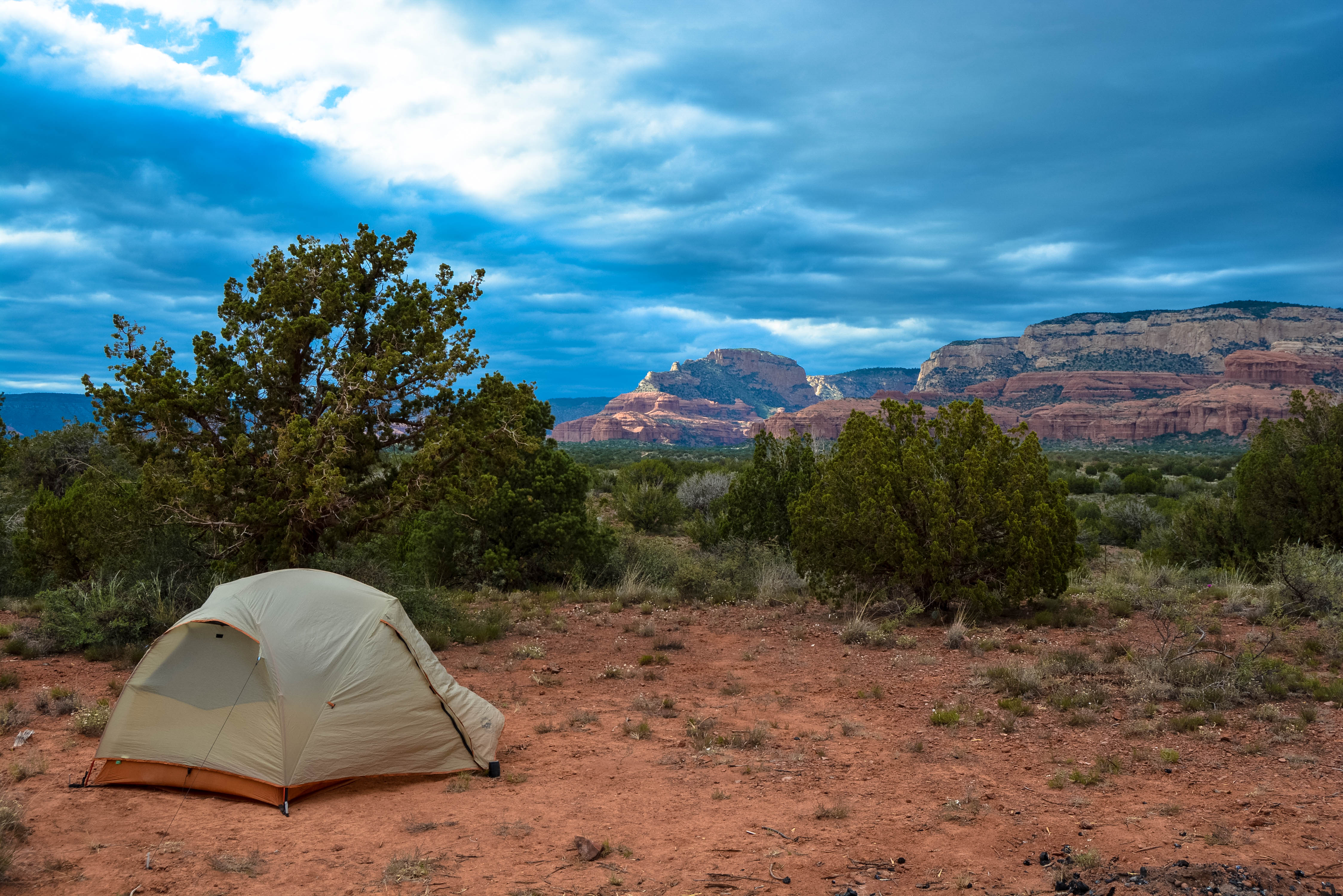 Camping in Sedona