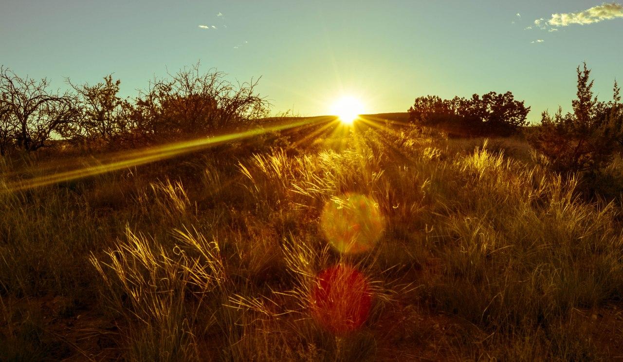 Summer Solstice sun_