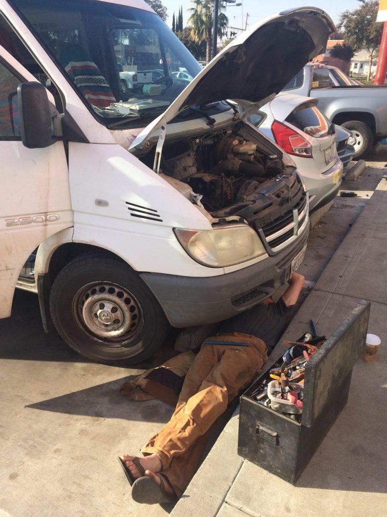 Sprinter alternator repair