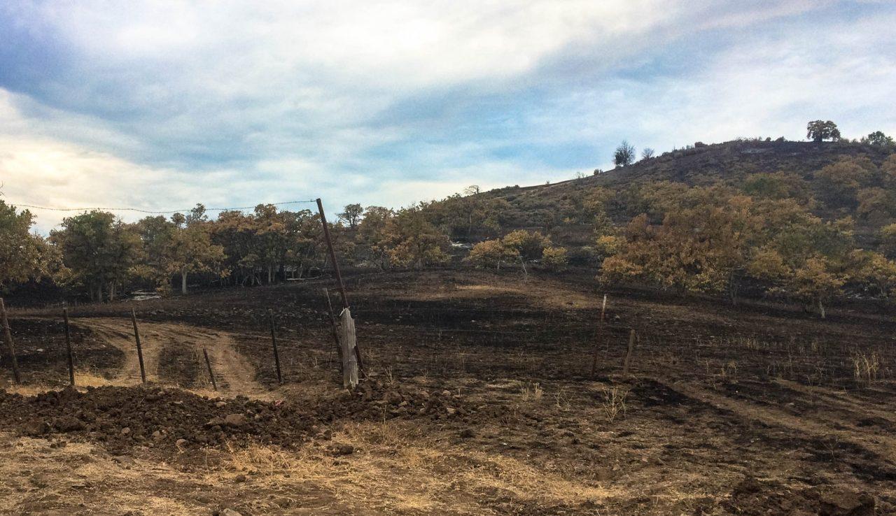 Klamathon fire damage