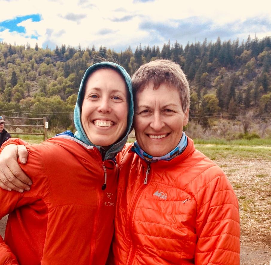 Me and Linda at Paiute Meadows 50k
